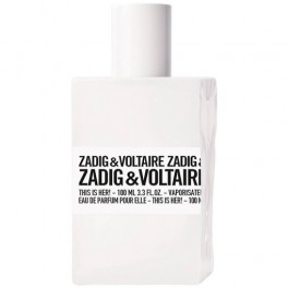 Zadig & Voltaire This Is Her! 100 ml EDP Tester